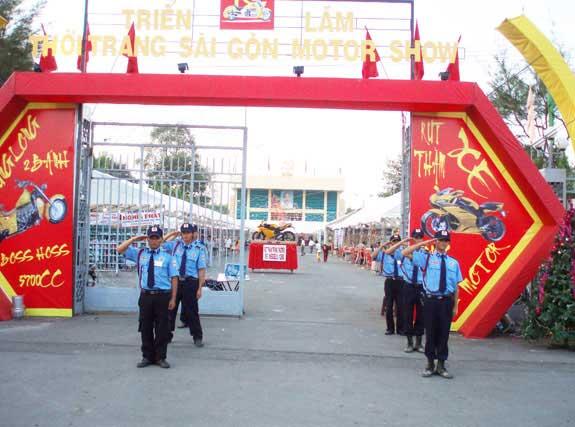 Bảo vệ tổ chức sự kiện và hội thảo