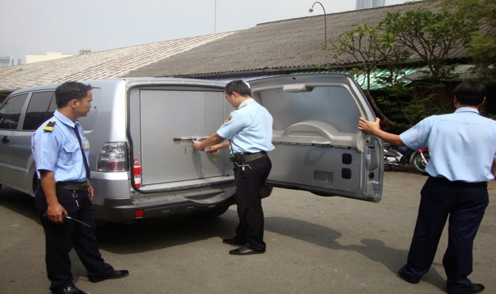 Bảo vệ vận chuyển hàng hóa an toàn, chuyên nghiệp